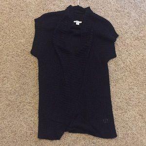 Tunic Sweater Knit - Black